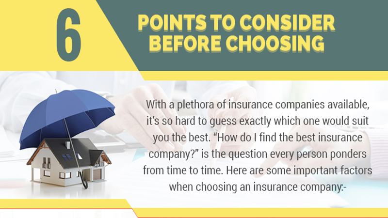 Infographic: 6 Points to Consider before Choosing