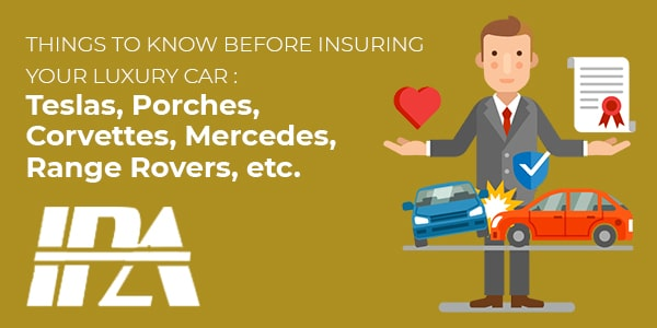Things to know before insuring your luxury car