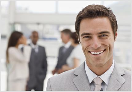 guy smiling