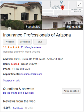 Insurance Professional of Arizona